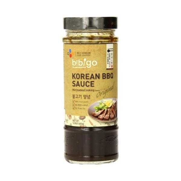 Bibigo Korean Bbq Sauce Original 16.9Oz. (Pack Of 6)