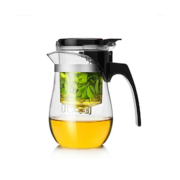 Dechunxian Best Teapot Tumbler Infuser, Perfect Loose Tea Leaves Maker ,Easiest Tea Brewing Solution
