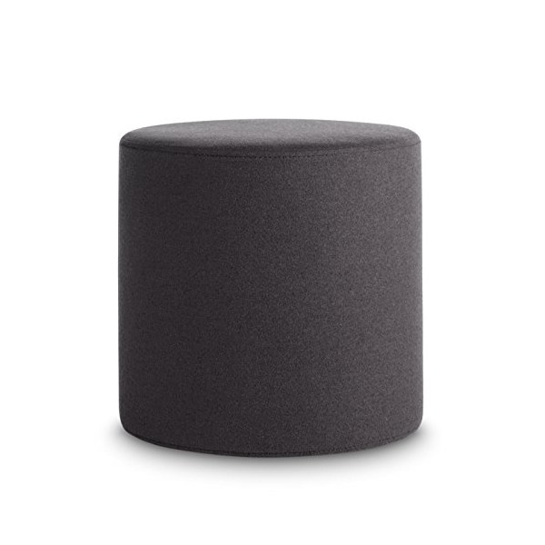 Blu Dot Buoy Small Ottoman, Thurmond Charcoal