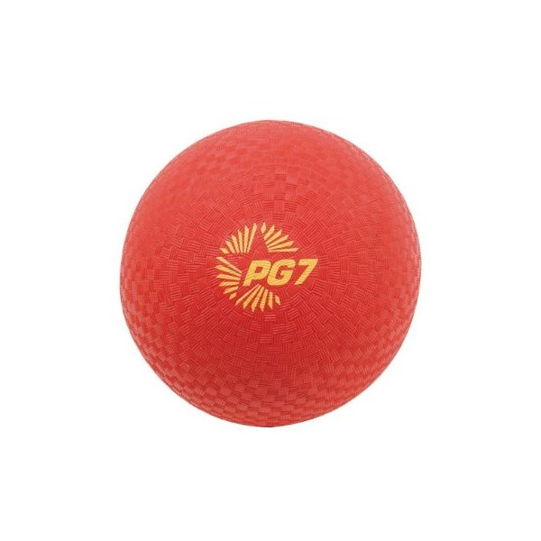Champion Sports 7-Inch Red Playground Ball