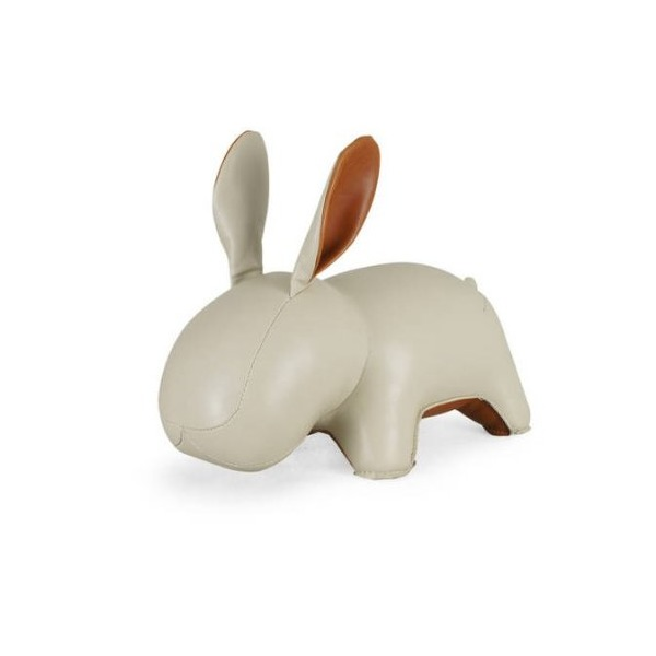 Zuny Series Rabbit Lala Wheat Animal Bookend
