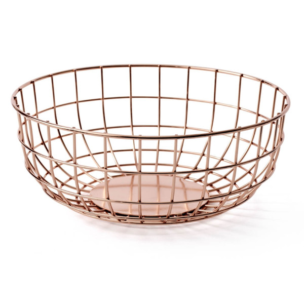 MENU Wire Bowl, Copper