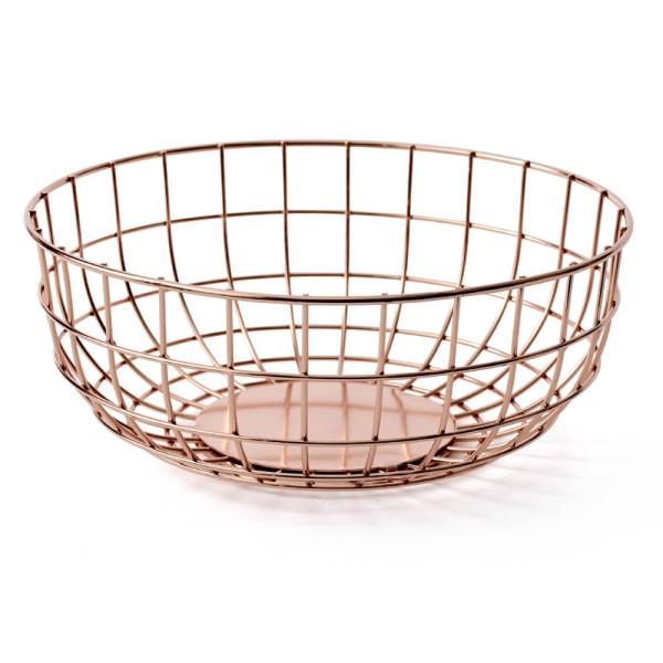 MENU Wire Bowl, Copper