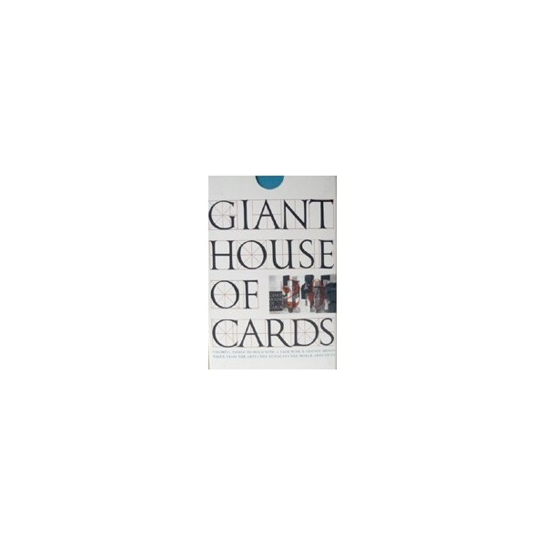 Giant Eames House of Cards
