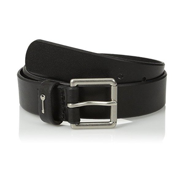 Fossil Women's Key Keeper Belt, Black, Medium