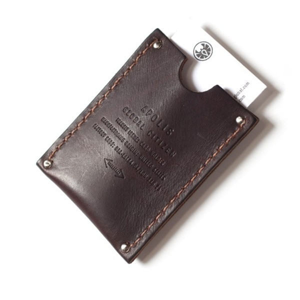 Apolis Leather Card Holder