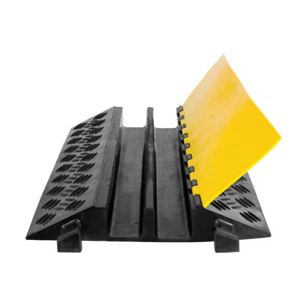 2-Channel Heavy Duty Cable Protector Ramp