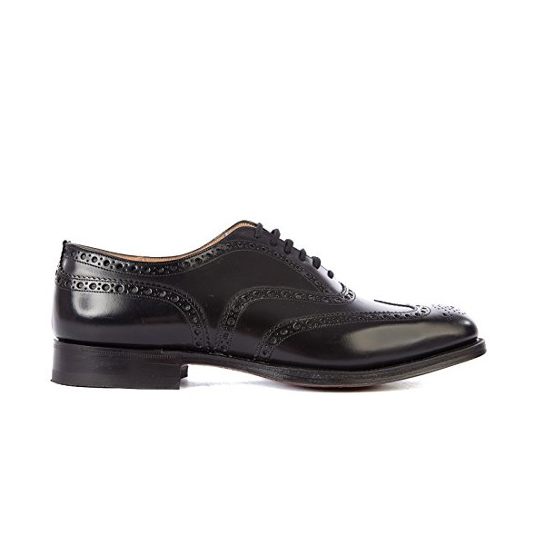 Brogue Burwood Black
