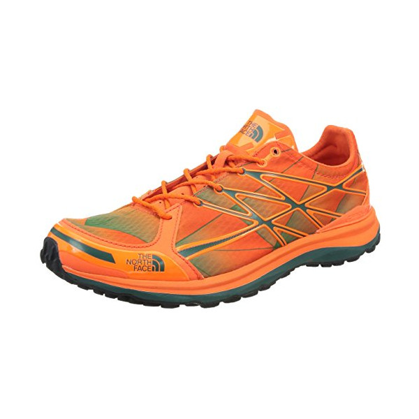 The North Face Men's Ultra TR II, Power Orange/Jasper Green (8, Power Orange/Jasper Green)
