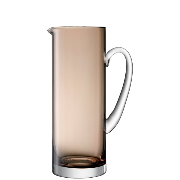 LSA International Basis Jug, 50 fl. oz., Mocha