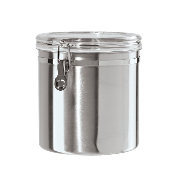 Oggi Jumbo Stainless Steel Kitchen Canister
