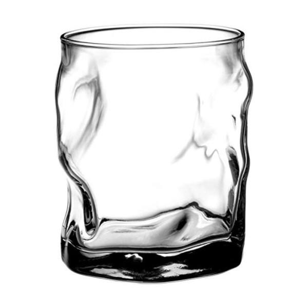 Bormioli Rocco Sorgente Double Old Fashioned Glasses, Set of 4