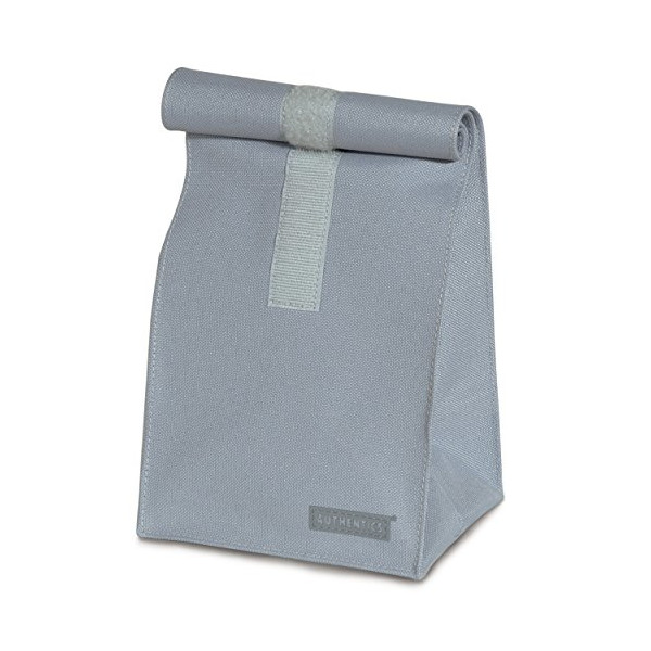 Authentics Rollbag Big, Roll-Top Closure, Coated Polyester Fabrics, Grey, 26X49X19 cm, 6031314