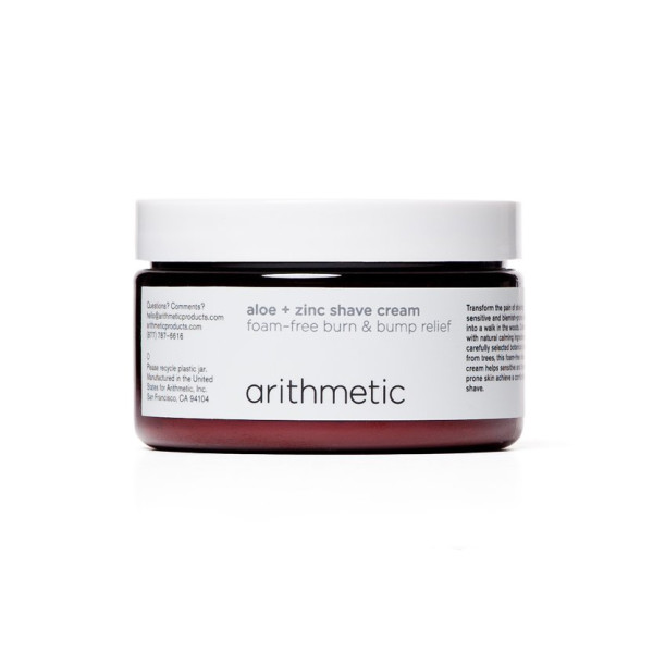 Arithmetic Aloe + Zinc Shave Cream