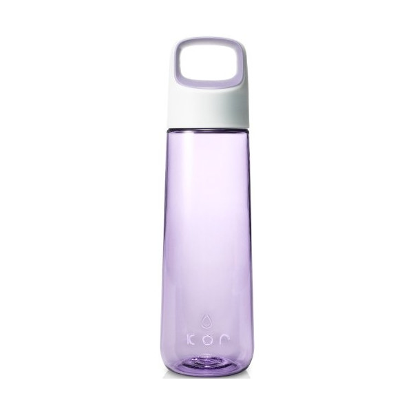 KOR Aura BPA Free Water Bottle, 750ml, Lavender
