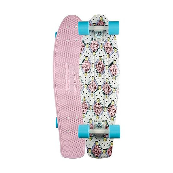 "Penny 27"" Buffy Complete Nickel Skateboard - Pink"