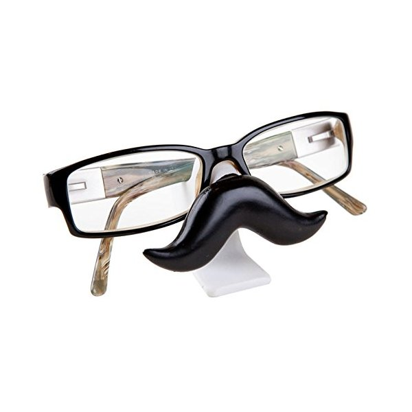 Moustache Watson Face Glasses Stand