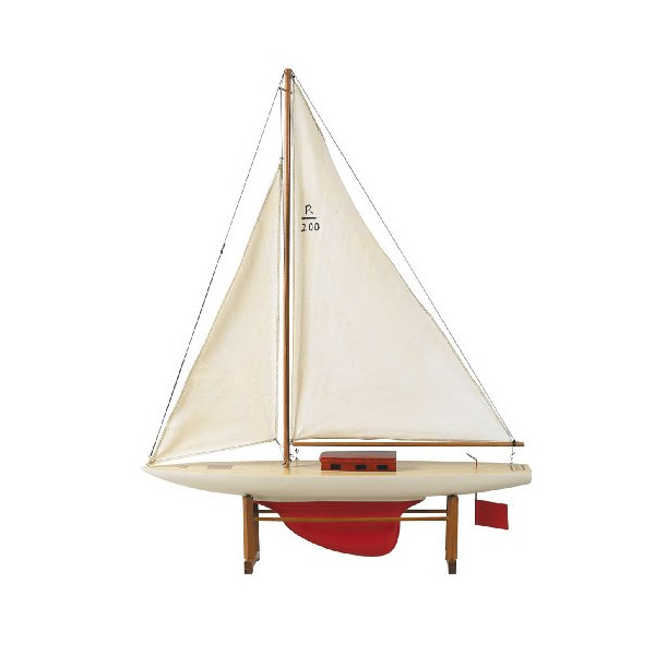 Authentic Models As052 Rascal Pond Yacht