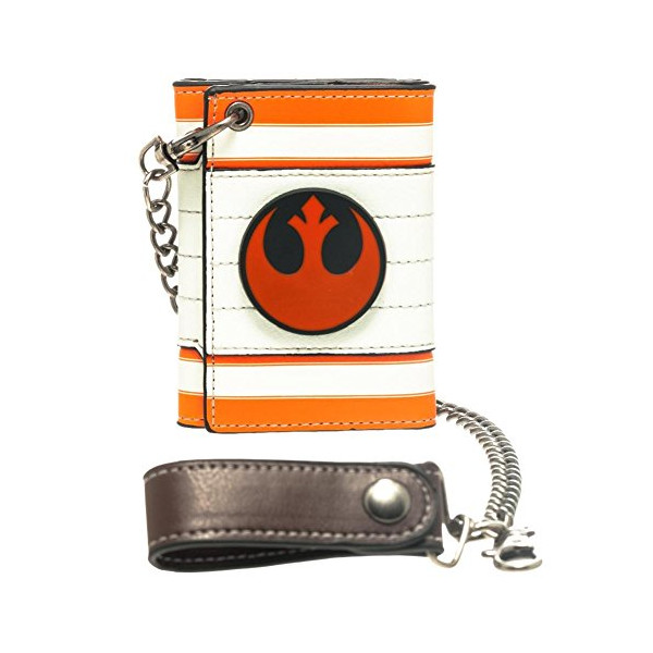 Star Wars Rebel Alliance Metal Badge Chain Wallet