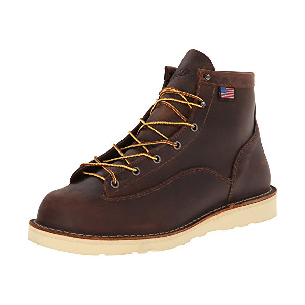 Danner Men's Bull Run 6-Inch BR Cristy Work Boot,Brown,10.5 D US