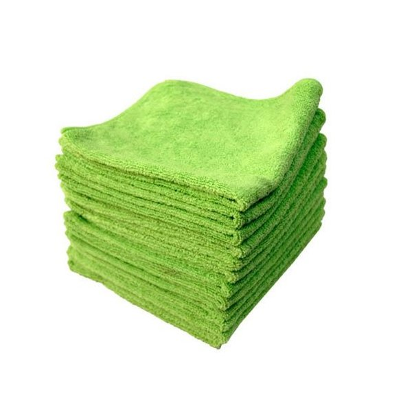 Chemical Guys 816276000000  MIC33312 El Gordo Professional Extra Thick Supra Microfiber Towels, Green - 16.5 in. x 16.5 in. (Pack of 12)
