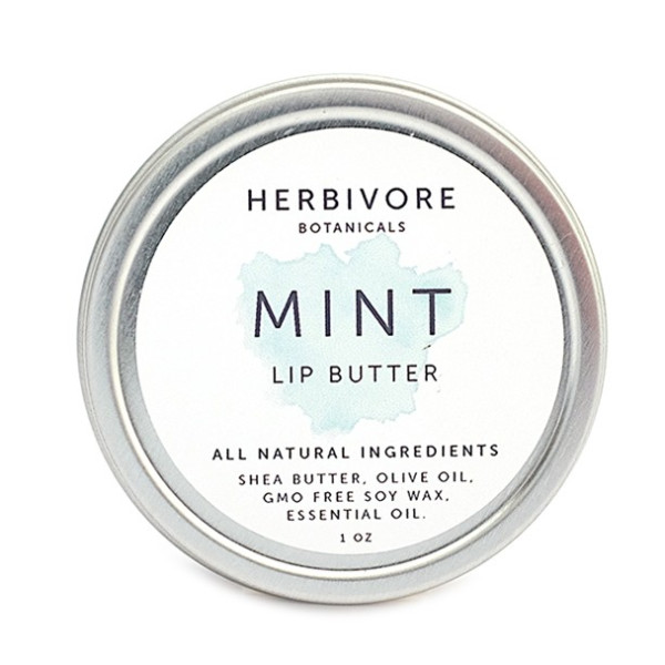 Herbivore Botanicals All Natural Lip Butters, Mint