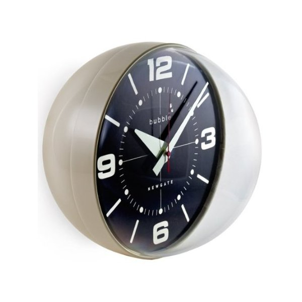Bubble Wall Clock Cream