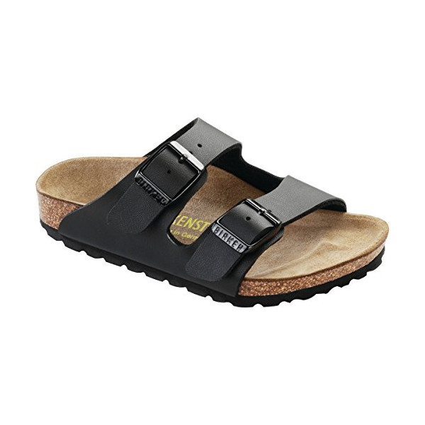 Birkenstock Unisex Arizona Slide Sandal, black, 32 EU/1 M US Big Kid