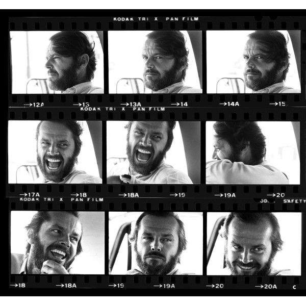 Jack Nicholson Contact Sheet