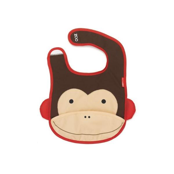 Skip Hop Zoo Bib, Monkey