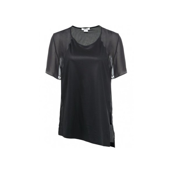 Helmut Lang Women's Vena Top UK 12 Black