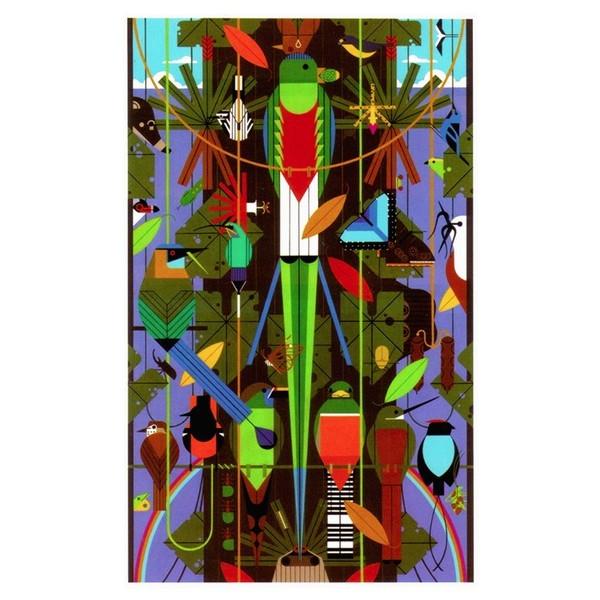 Charley Harper Monteverde 1000 Piece Jigsaw Puzzle