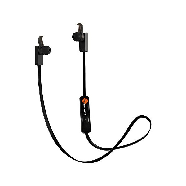 Bluetooth Earphones, TaoTronics Bluetooth Wireless Earphones Sport Headphones Earbuds Headsets (Bluetooth 4.0, Delicate Sound, Build-in Mic, 6 Hours Playtime, CVC 6.0 Noise-Cancelling)