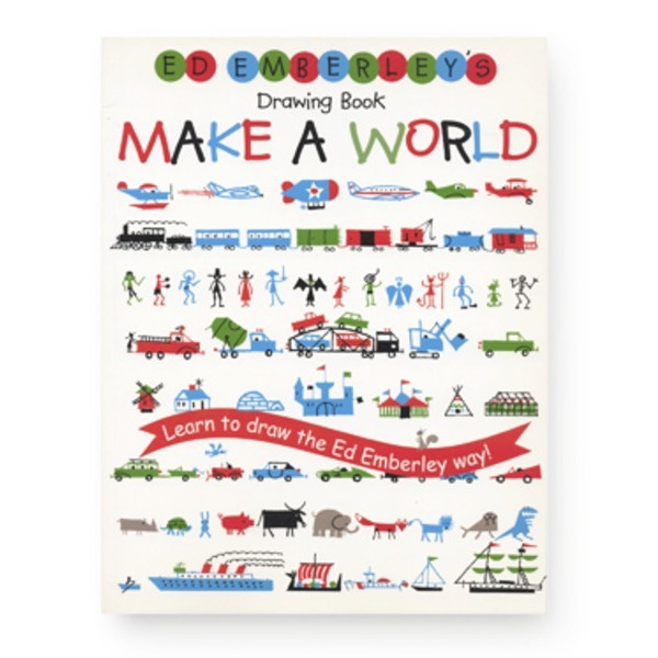 Ed Emberley's Drawing Book: Make a World, Paperback