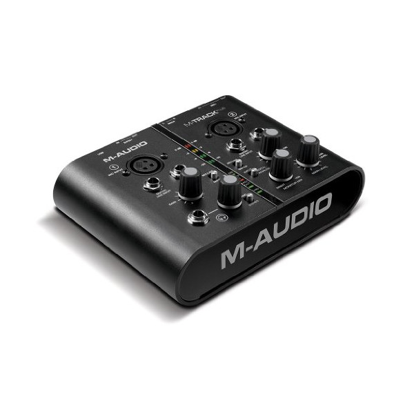 M-Audio M-Track Plus 2-Channel Portable USB Audio and MIDI Interface with Digital I/O, Ignite by AIR and Pro Tools