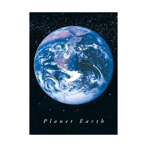 Planet Earth from Space Art Print Poster