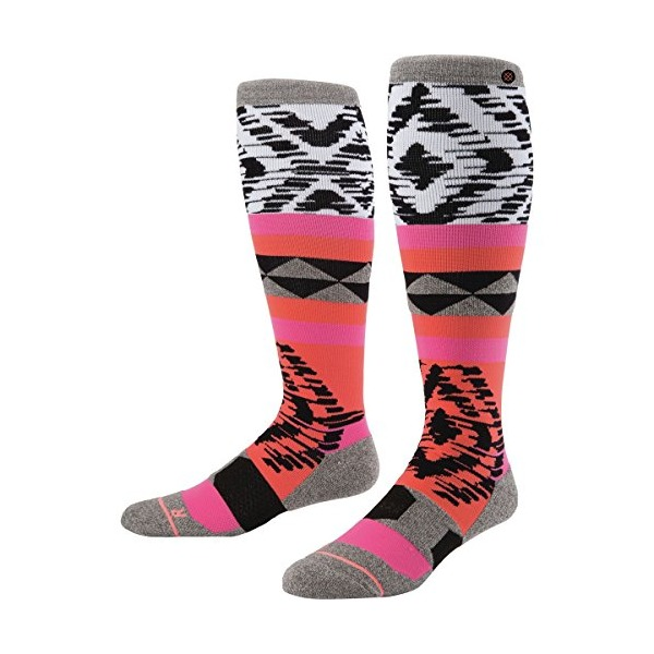 Stance Women's Acrylic Knee High Snow Sock, Kora La, Medium/Large