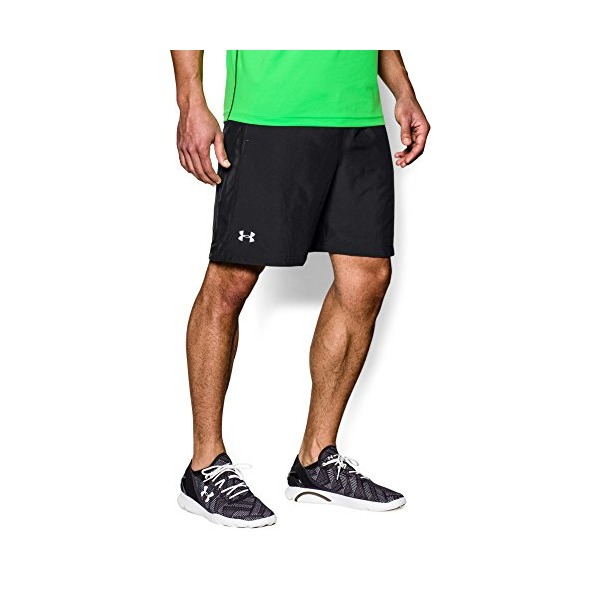 "Under Armour Men's UA Launch Run Woven 7"" Run Shorts Medium Black"