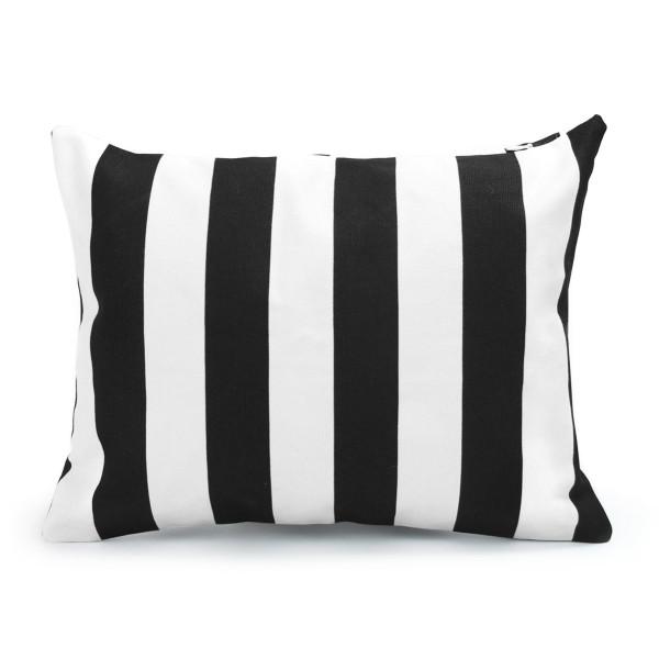 Handmade Cushion Case, Black and White