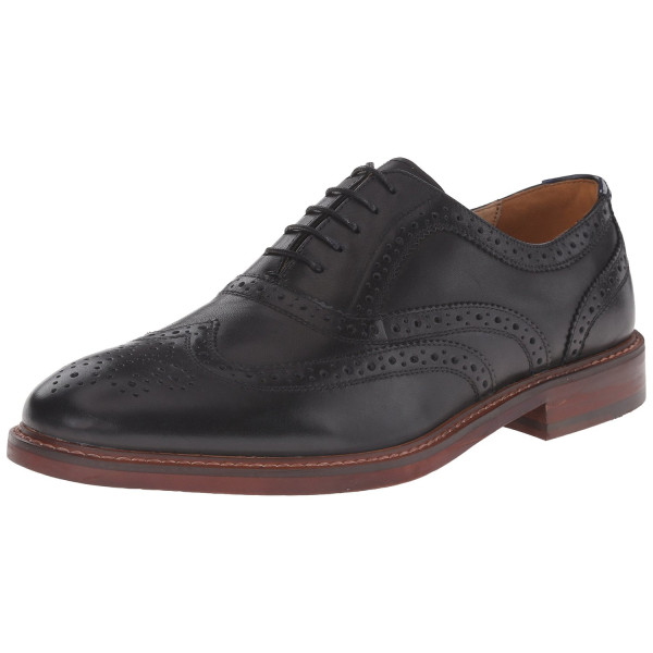 Steve Madden Men's Bisson Oxford, Black, 11 M US
