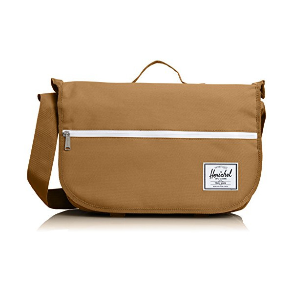 Herschel Supply Co. Pop Quiz Messenger Bag, Caramel, One Size