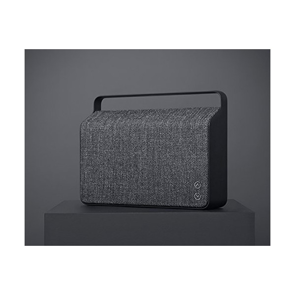 Vifa Copenhagen Hi-Resolution Bluetooth WiFi Wireless Portable Speaker - Anthracite Grey