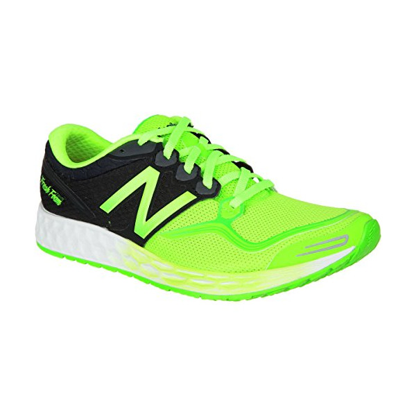 New Balance Men's M1980V1 Fresh Foam Zante Running Shoe, Green/Black, 10.5 D US