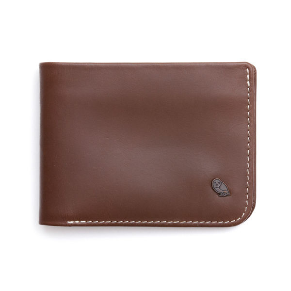 Bellroy Men's Leather Hide & Seek Wallet, Java