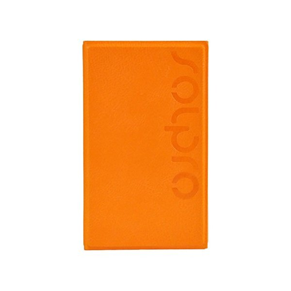 Solpro Helios 4500mAh Tri-Fold Solar Charging Power Bank, Orange