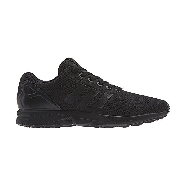 Adidas ZX Flux (Black Elements: Total Blackout) Black1/black1/chalk2 (10.5)