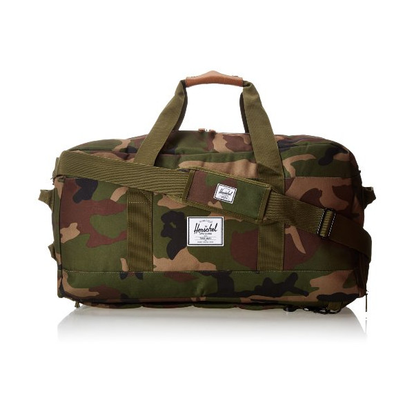 Herschel Supply Co. Outfitter Rubber, Woodland Camo/Orange, One Size