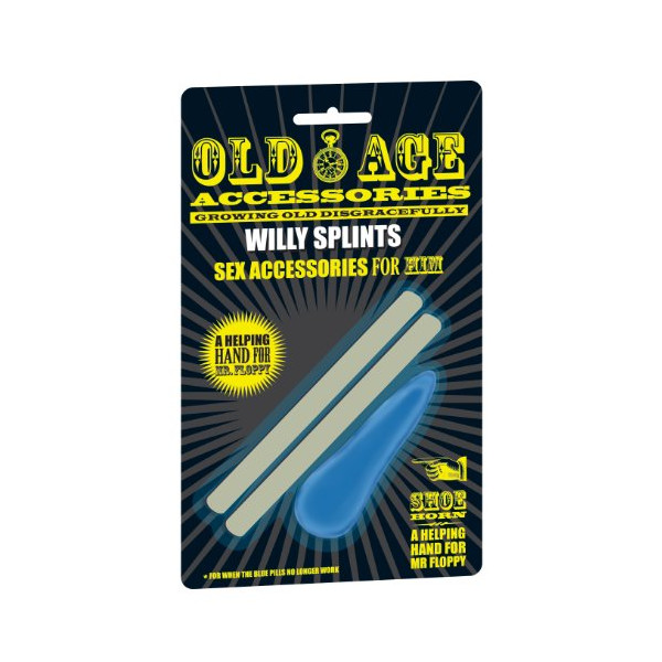 Willy Splints Old Age Sex Accessory HIM - Boxer Gifts
