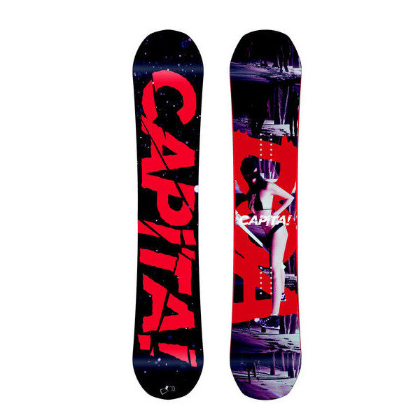 Capita Mens Defenders Of Awesome Snowboard 158