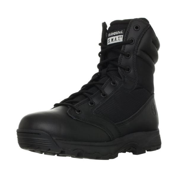 Original S.W.A.T. Men's WinX2 8-Inch Side-Zip Tactical Boot, Black, 10.5 D US